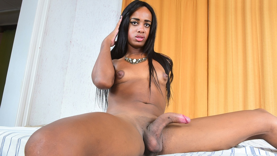 Big dick black tgirls