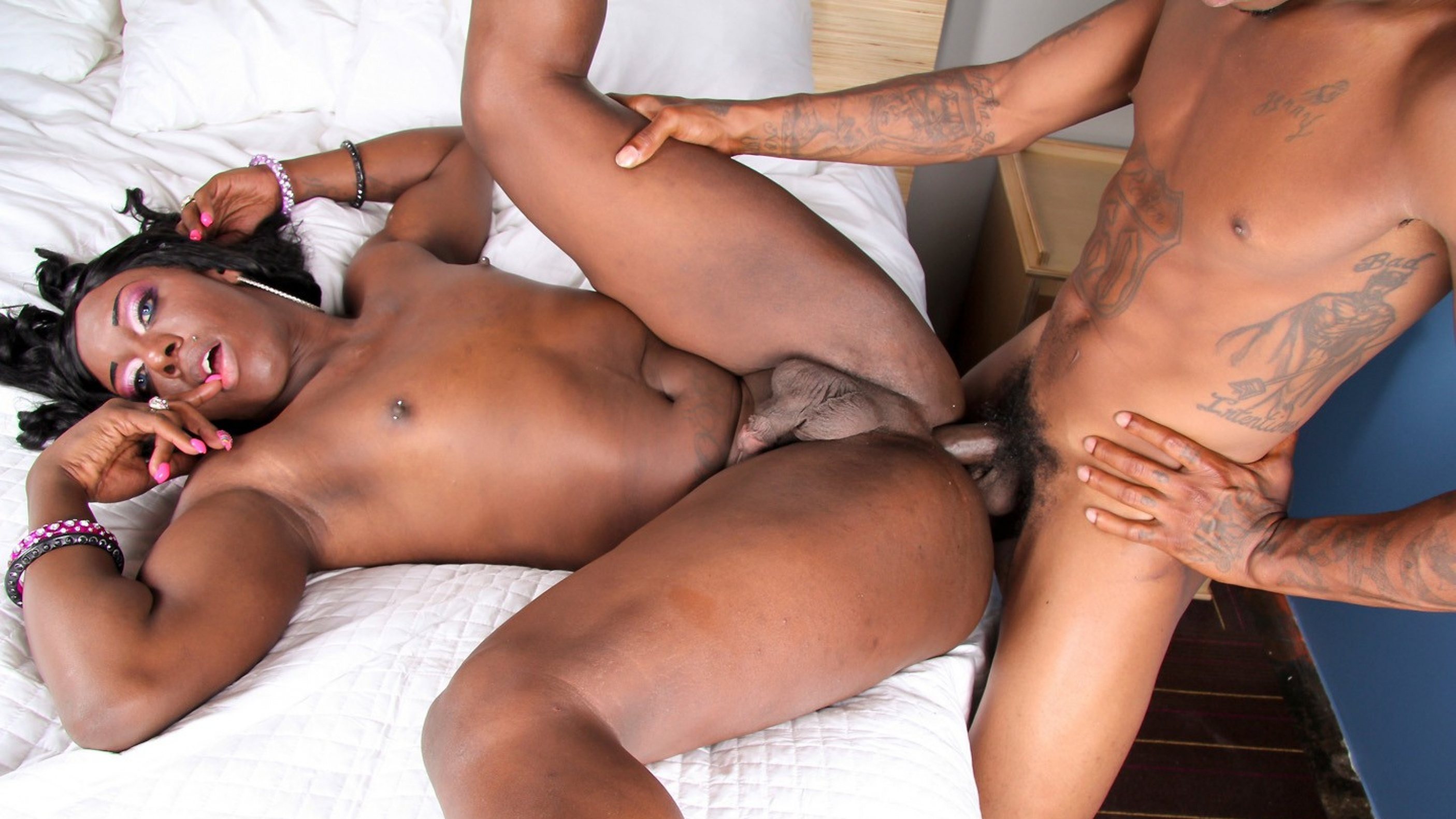 Black Hubby Fucked White Wife